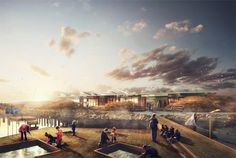 """The Architecture of Early Childhood: """"A learning landscape"""" is this concept by NORD for a marine educational centre"""