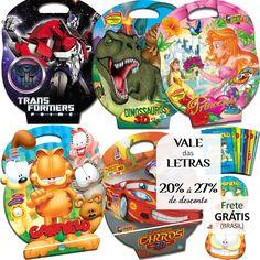 Livros com Histórias em 3D, Atividades e Disco Interativo em Maletas - Vale das Letras até 27%