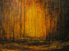 Spark to a Flame  Acrylic and mixed media on Canvas  By Jewel Buhay