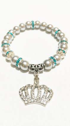 Crown Bracelet / Crown Jewelry / 5 Point by VickysLittleSecrets, $10.99