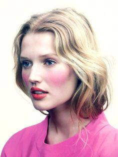 7. Blushy Cheeks - 7 Beauty Tips to Steal from the Runway ...