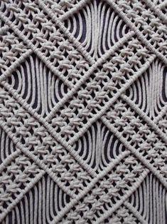 Macrame Curtain, Macrame Bag, Macrame Wall Hanging Patterns, Macrame Patterns, Micro Macramé, Macrame Design, Macrame Projects, Crochet, Couture