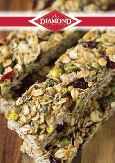 These Cranberry Pistachio Granola Bars are the perfect on-the-go snack for a busy afternoon. This recipe is healthy and tasty—it's everything you want in a quick treat.