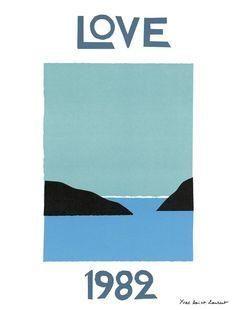 croquis affiche, Love 1982 - 2012.01.1575