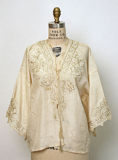 Ensemble (blouse for yellow and black Shalvar) (The Met)