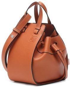 f9114055fb Loewe Mini Hammock leather crossbody bag Balenciaga Classic City, Brown  Crossbody Bag, Calf Leather
