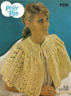 BED CAPE 4ply COPY Ladies crochet pattern