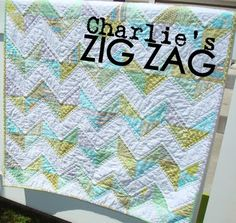 Another zig zag quilt I love :)