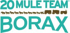 20 Mule Team Borax - 100% natural laundry booster