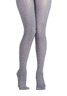 Skull That and More Tights, #ModCloth