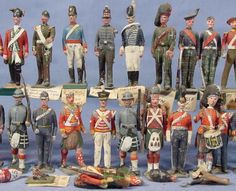 Vintage lead Toy and Model Soldiers: Marca BRITAINS