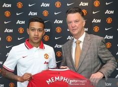 Memphis Depay Manchester United da