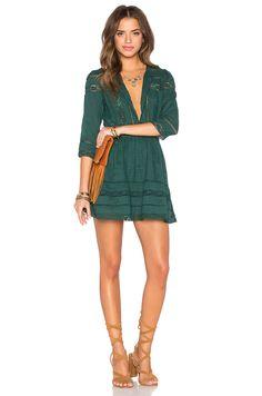 Tularosa x REVOLVE Payton Dress in Hunter Green