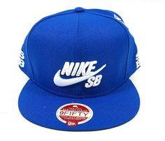 Boné Aba Reta Nike SB Azul  R$ 59,90 Frete Grátis