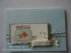 handmade by Julia Quinn - Independent Stampin' Up! Demonstrator: Jar of Love Best Fishes