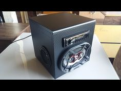Speaker Box Diy, Speaker Box Design, Diy Speakers, Diy Boombox, Car Audio Systems, Diy Car, Diy Electronics, Discovery, Ale