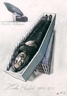Death Zaha Hadid