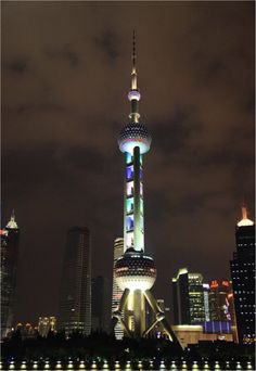 A proud landmark of Shanghai since 1994 – the Shanghai Oriental Pearl.