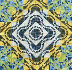 Cabin Fever, Quiltworx.com, Made by CI Martha Penner.