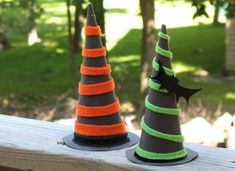 These witch's hats are easy enough that young kids can make them and whimsical enough that even adults will enjoy the project. Simple adjustments in embellishments will allow you to change the difficulty level. So whether it's little ones that need a fun project, or you have a craving for crafting yourself, these hats makeRead More »
