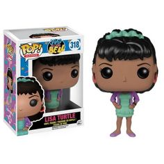 Funko Pop! Lisa Turtle, Saved by the Bell, Uma Galera do Barulho, Séries, Funkomania