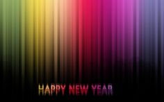 Colorful Happy New Year 2013 HD Wallpaper