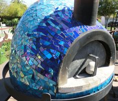 Pizza oven from Gallery | All Cracked Up Mosaics