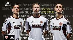 Hearts FC 2013/14 adidas Away Kit