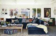DIY the Look: Rachel Bilsons Boho-Minimalist Home via Brit + Co