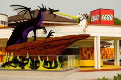 MUST get to LEGO store at Disney World!