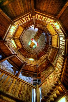 juliusturm - staircase by extranoise, via Flickr