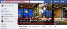 gruppi di Facebook per ricerca mobilia