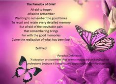 The Paradox of Grief