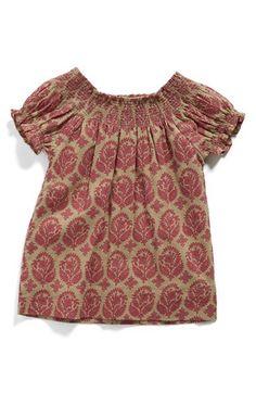 Peek 'Ella' Cotton Dress (Baby Girls) available at #Nordstrom