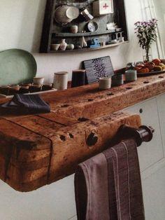 Werkbank als aanrechtblad, ariadne at home 2-2014
