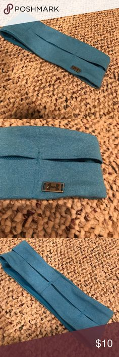 Under Armour Headband Great condition! Only worn a few times. Fully lined with mesh for air. No trades. Make offers:) Under Armour Accessories Hair Accessories