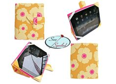 Sewing Spoiled iPad Folding Case/ Notebook/ Stand ePattern. $8.00, via Etsy.