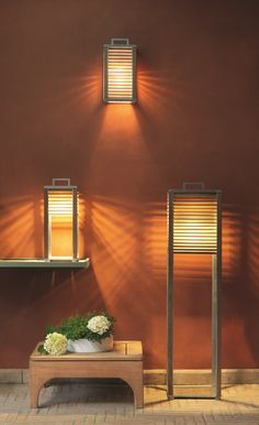 Teak wall lamp Ginger Collection by Ethimo | design Niccolò Grassi