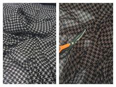 Craft Fabrics by the Metre Print Chiffon, Chiffon Fabric, Dog Teeth, Fabric Online, Houndstooth, Fabrics, Summer Dresses, Store, Crafts