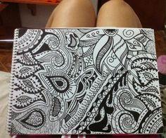 Drawing tribal