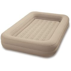 For camping with little ones that roll! Intex Toddler Airbed - Walmart.com $34.96