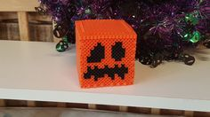 3D Minecraft Plain Jack o'Lantern by CraftMeCrazy on Etsy