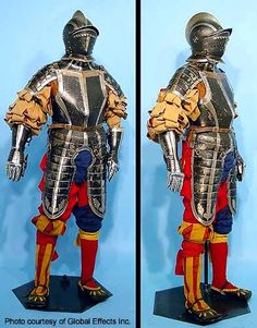 Landschneckt infantry armour,16th c. German or Swiss