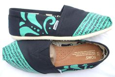 Bible verse TOMS!!! I want these<3