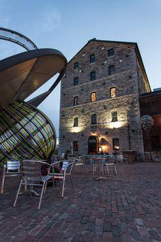 Distillery District, Toronto, Ontario, Canada   by Calvin Lee, via 500px
