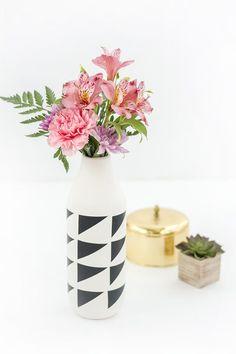 DIY CB2 Marlow Vase Look-A-Like Hack
