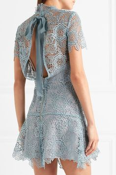#Mini Dress #Lace Magical Mini Dress