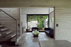 Современные двухэтажные дома из бетона V+D Set от студии BAK / CURATED.ru