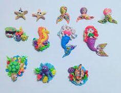 Resultado de imagen para accesorios de unicornio en masa flexible Unicorns