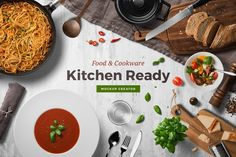 Kitchen Ready Mockup Creator by Genetic96.deviantart.com on @DeviantArt